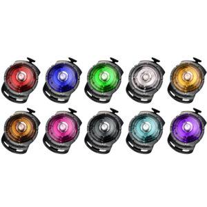 Orbiloc Safety Light -turvavalo + lisäparistot (5 kpl, arvo 14,90 €!)