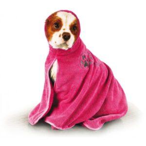 Show Tech Koiran kylpytakki, koko L, pinkki